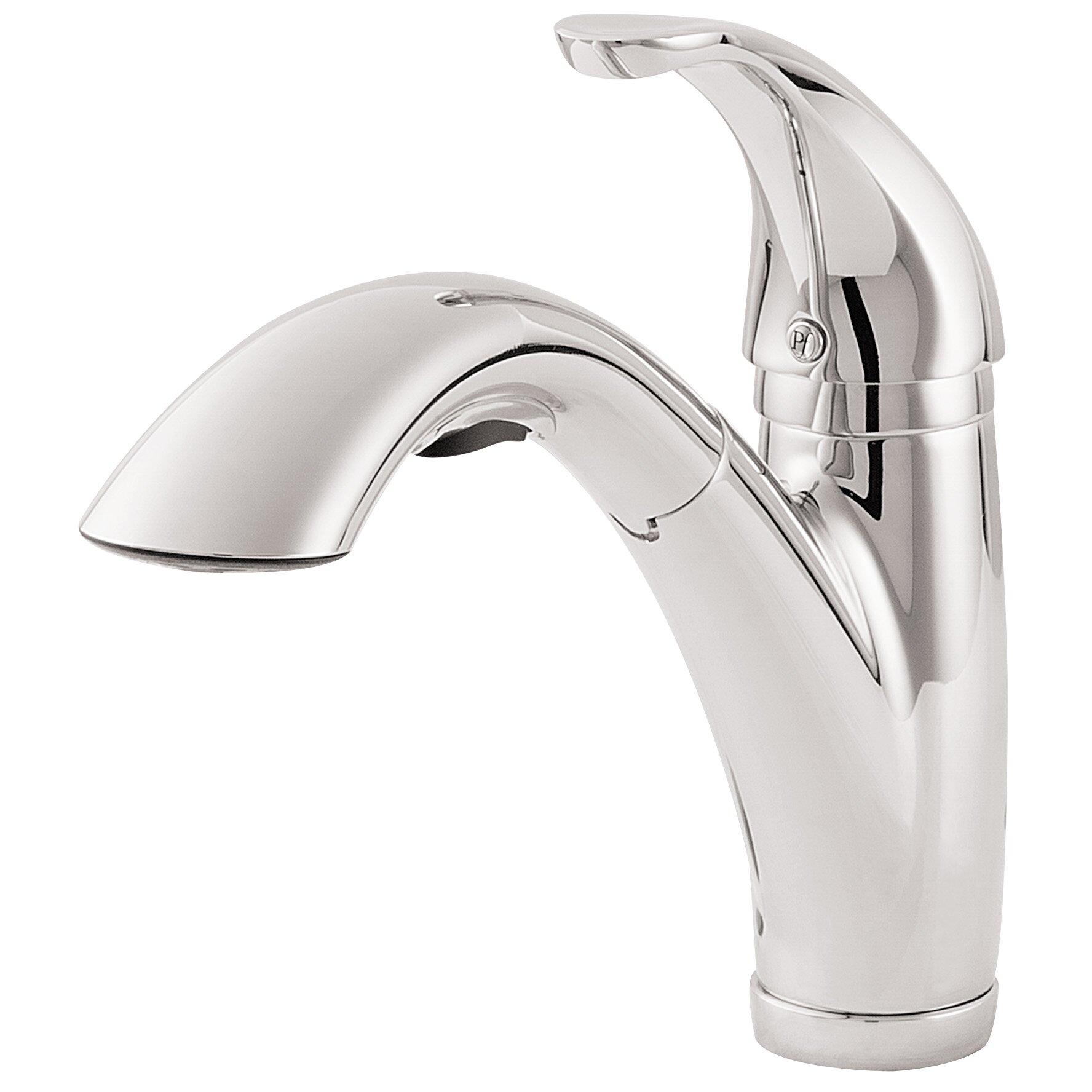 Parisa  Handle Pull Out Kitchen Faucet