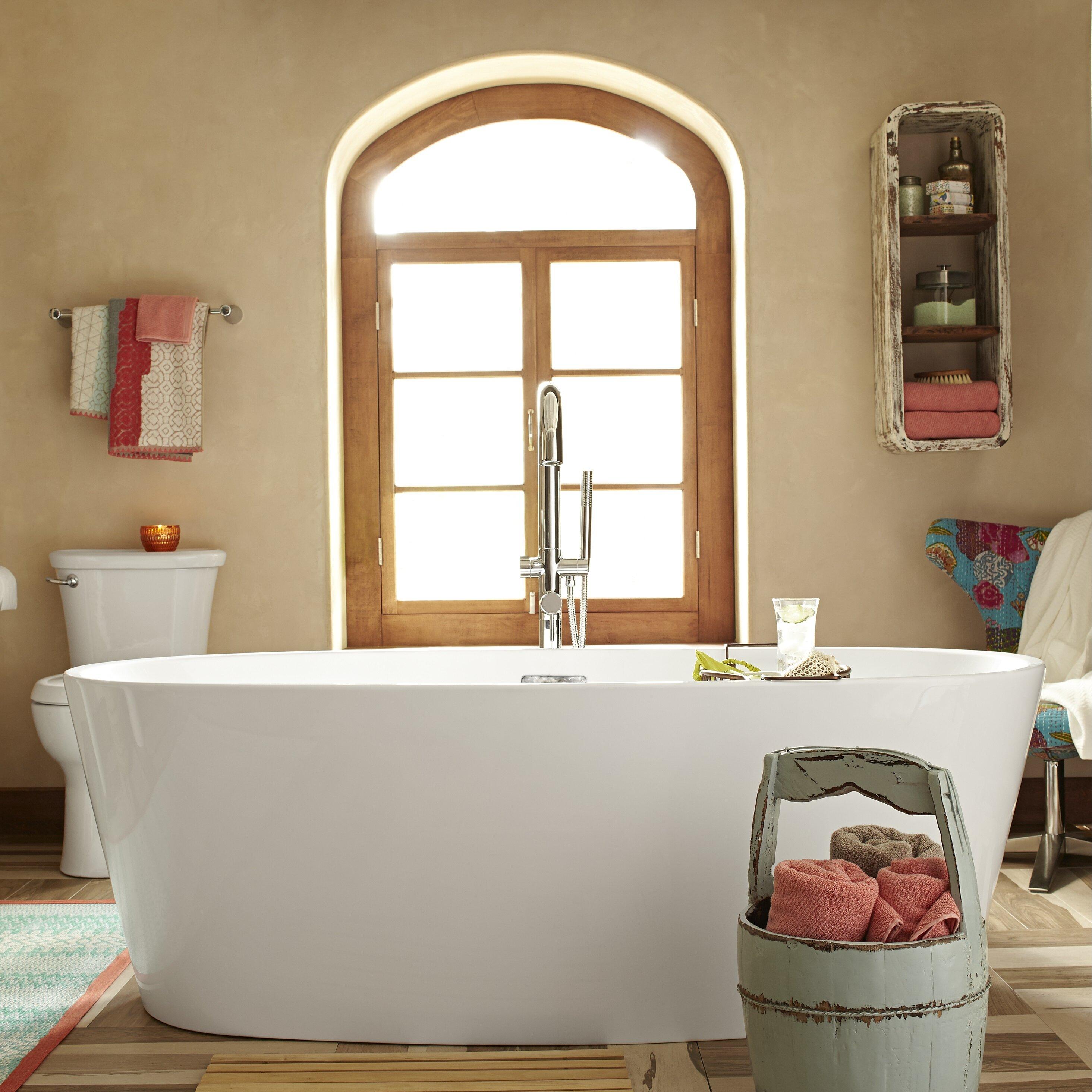 American Standard Coastal 68 75 Quot X 31 25 Quot Soaking Bathtub Amp Reviews