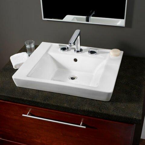 American Standard Boulevard Pedestal Bathroom Sink Set
