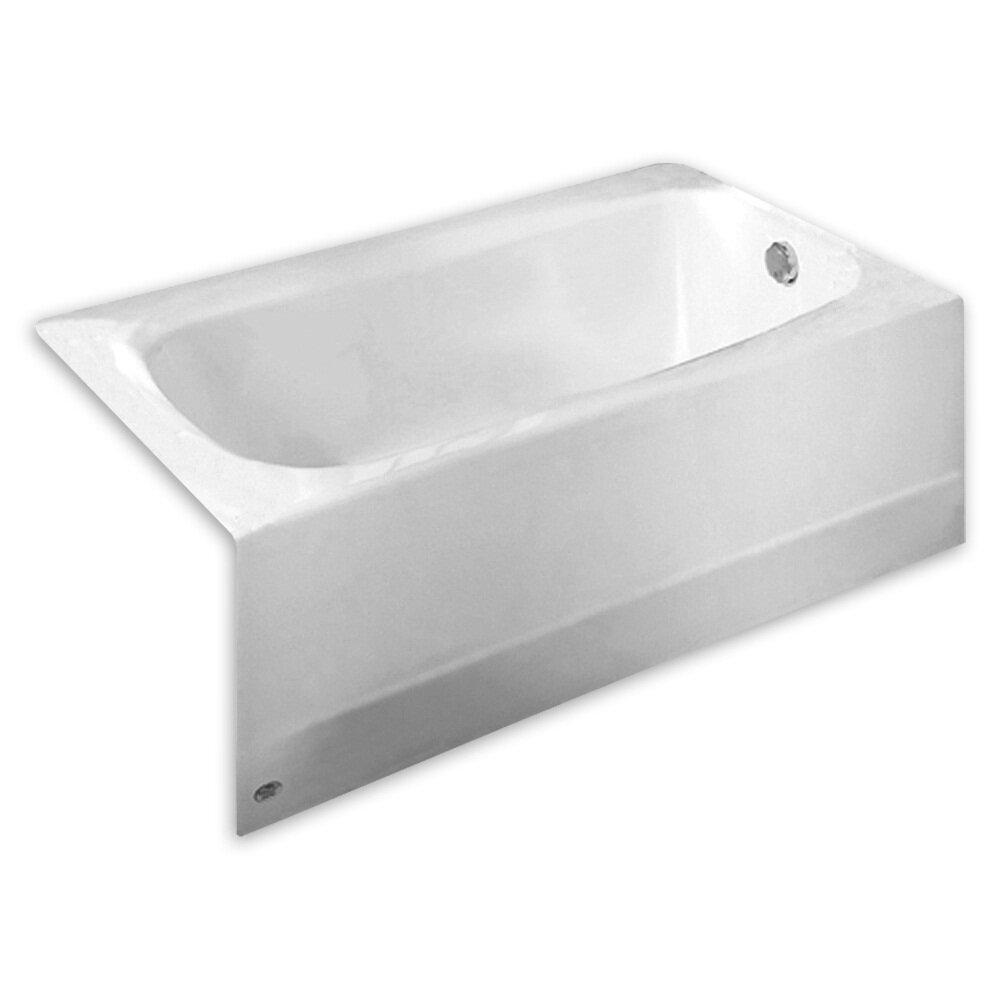 American standard cambridge x bathtub wayfair for Non standard bathtubs