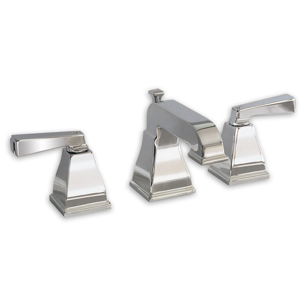 American standard town square widespread bathroom faucet with double lever handles reviews - Bathroom faucets ...