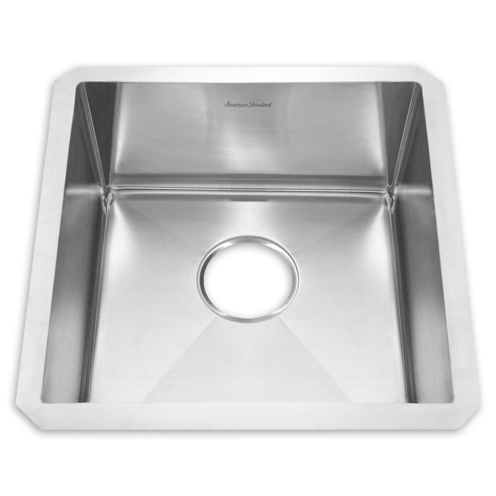 American standard 20 x 20 undermount kitchen sink wayfair - American standard kitchen sink ...