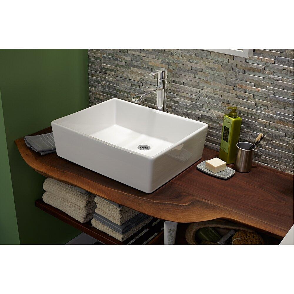 Countertop Sink : American Standard Cadet Countertop Sink Wayfair