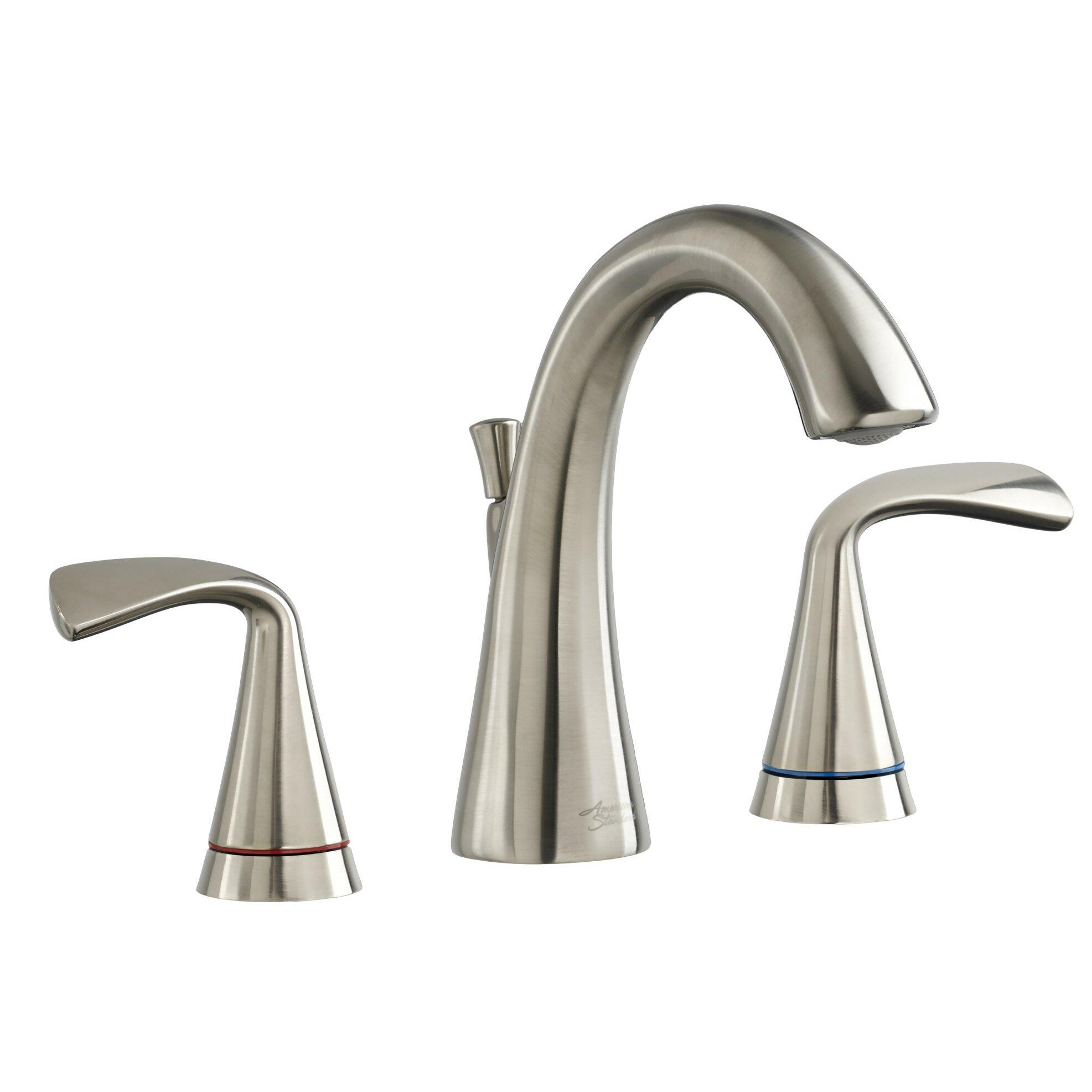 American Standard Fluent Widespread Bathroom Faucet Double