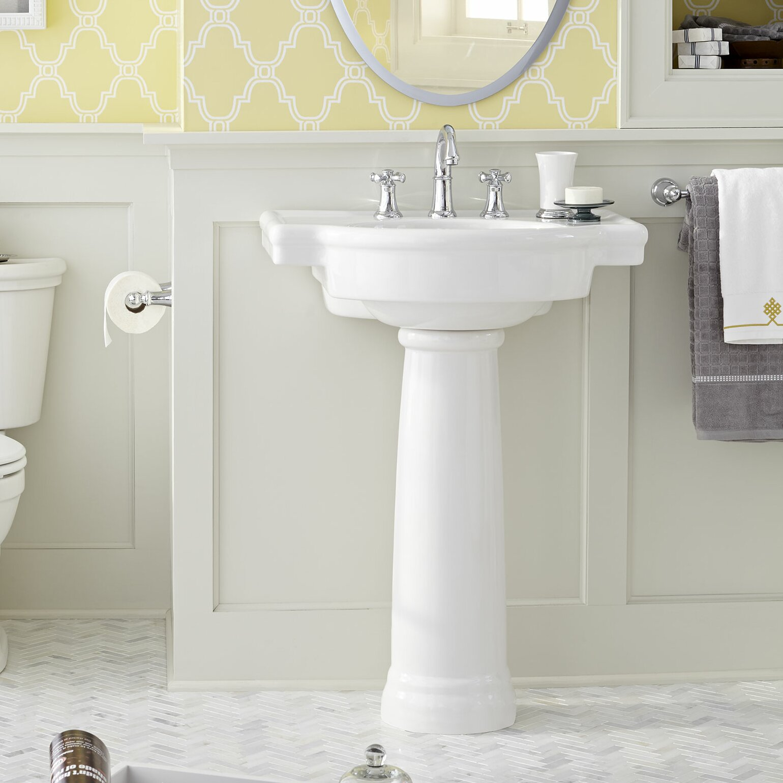 American Standard Retrospect Pedestal Bathroom Sink
