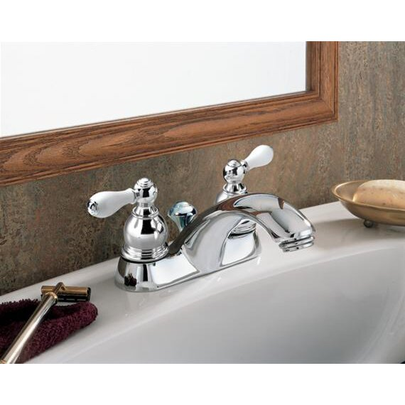 American Standard Hampton Centerset Bathroom Faucet With