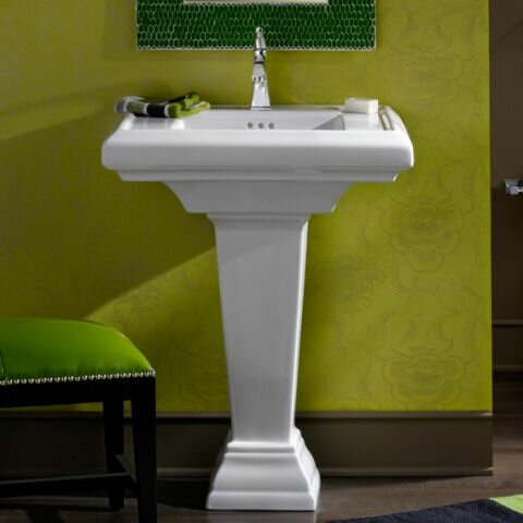 American Standard Town Square 24 Quot Pedestal Bathroom Sink