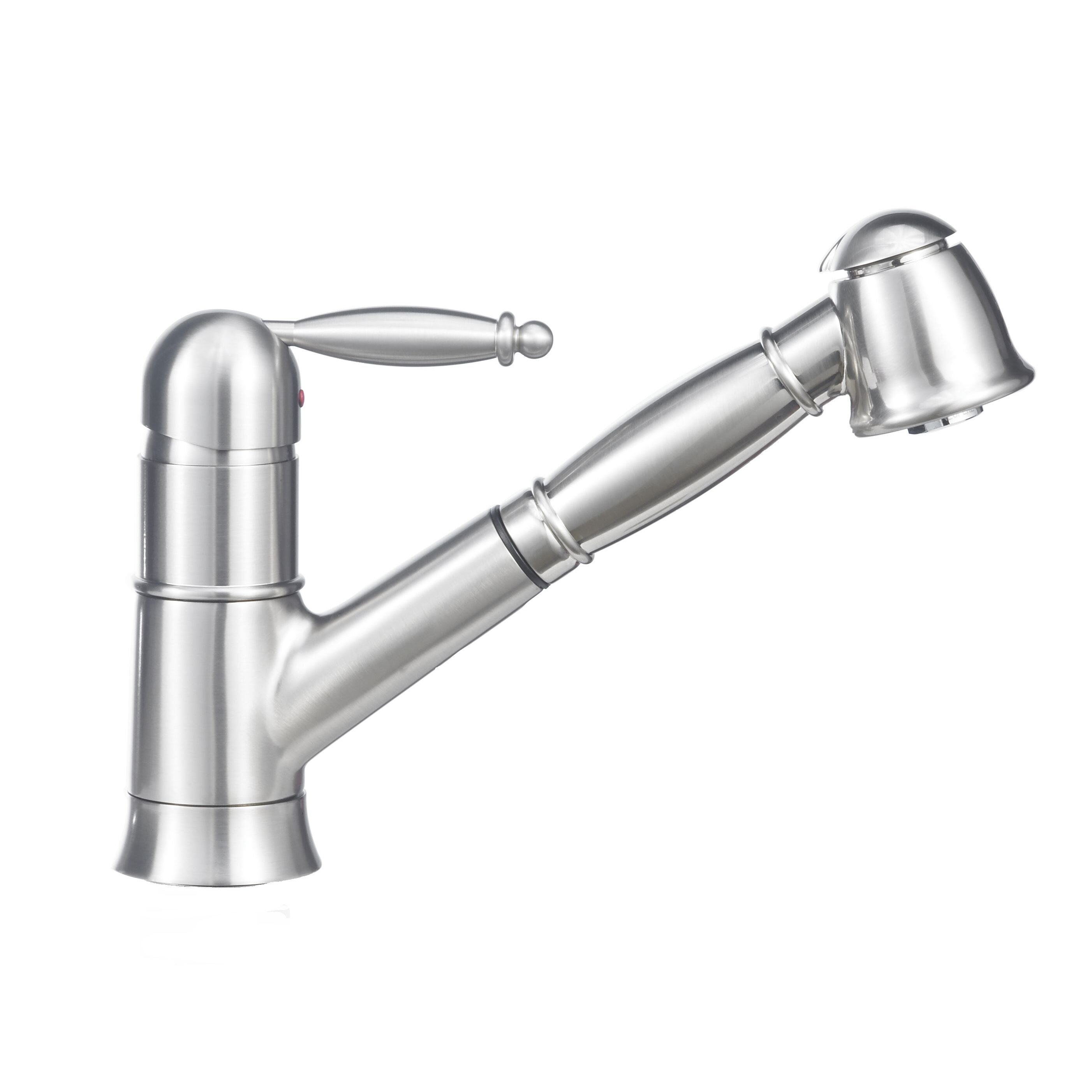 Blanco Grace Single Handle Deck Mounted Standard Kitchen Faucet with ...