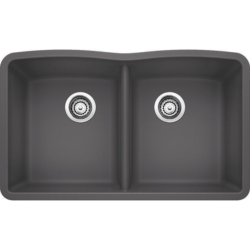 Blanco Top Mount Kitchen Sinks : Blanco Diamond 32