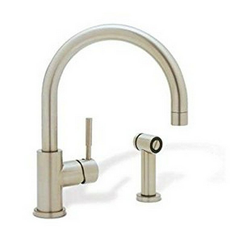 Blanco Meridian Single Handle Deck Mounted Kitchen Faucet With Side Spray Reviews