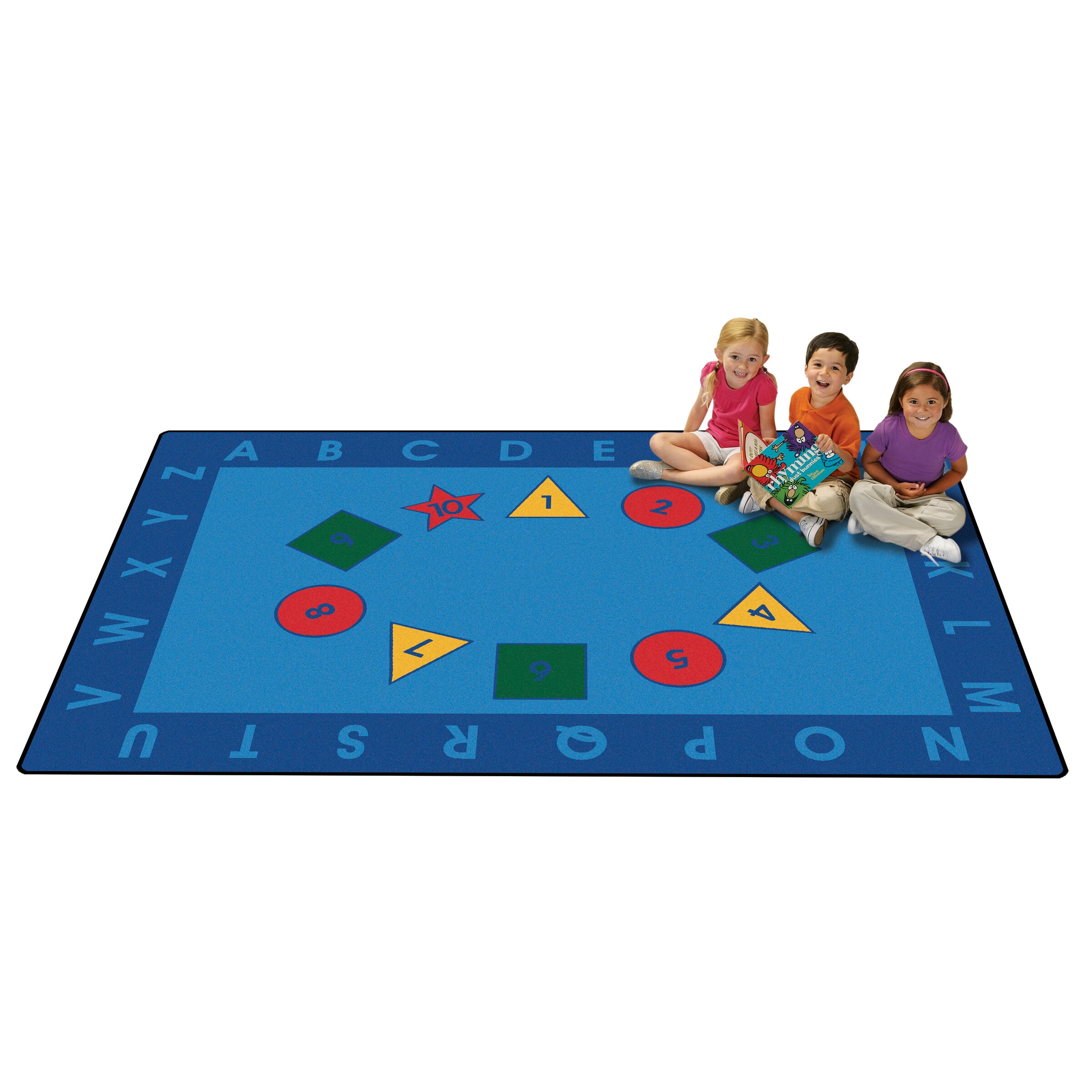 Learning Rug: Carpets For Kids Value Plus Early Learning Area Rug