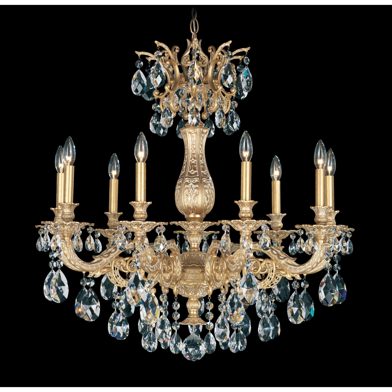 Schonbek Chandelier Wayfair: Schonbek Milano 9 Light Crystal Chandelier