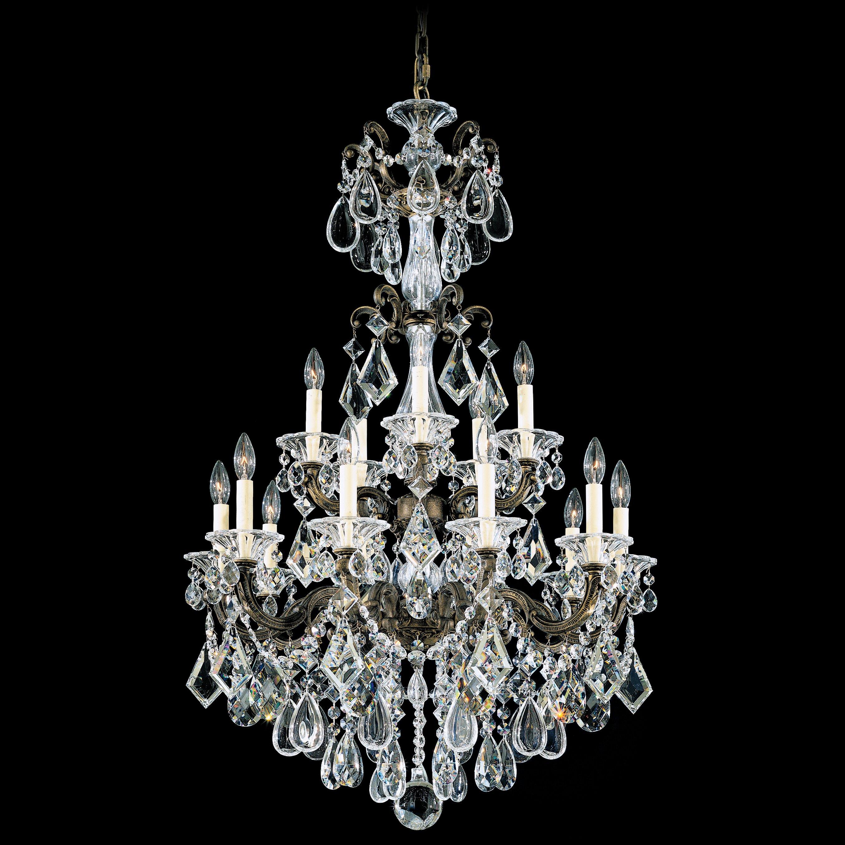 Schonbek Chandelier Wayfair: Schonbek La Scala 15 Light Chandelier & Reviews