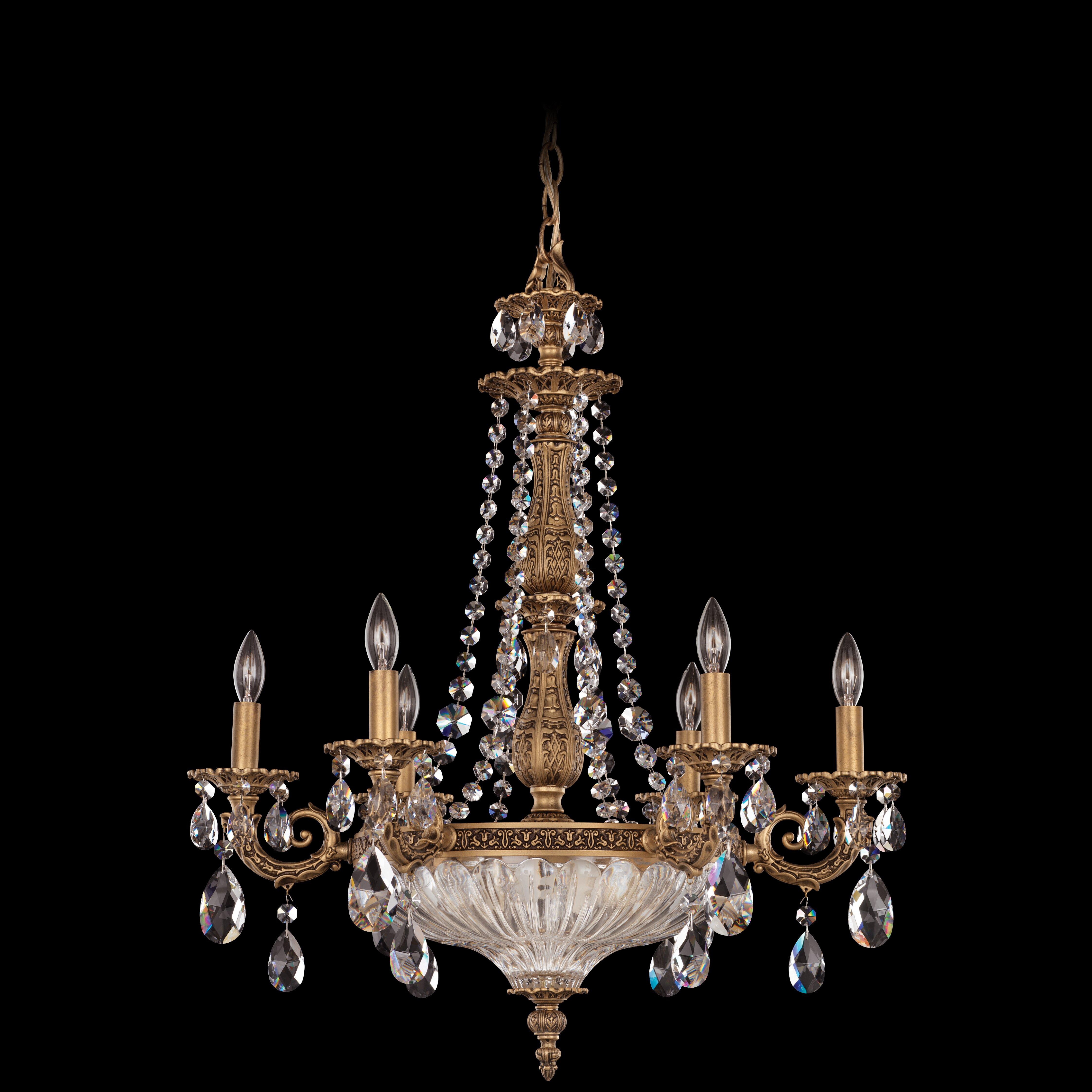 Schonbek Chandelier Wayfair: Schonbek Milano 12 Light Crystal Chandelier & Reviews