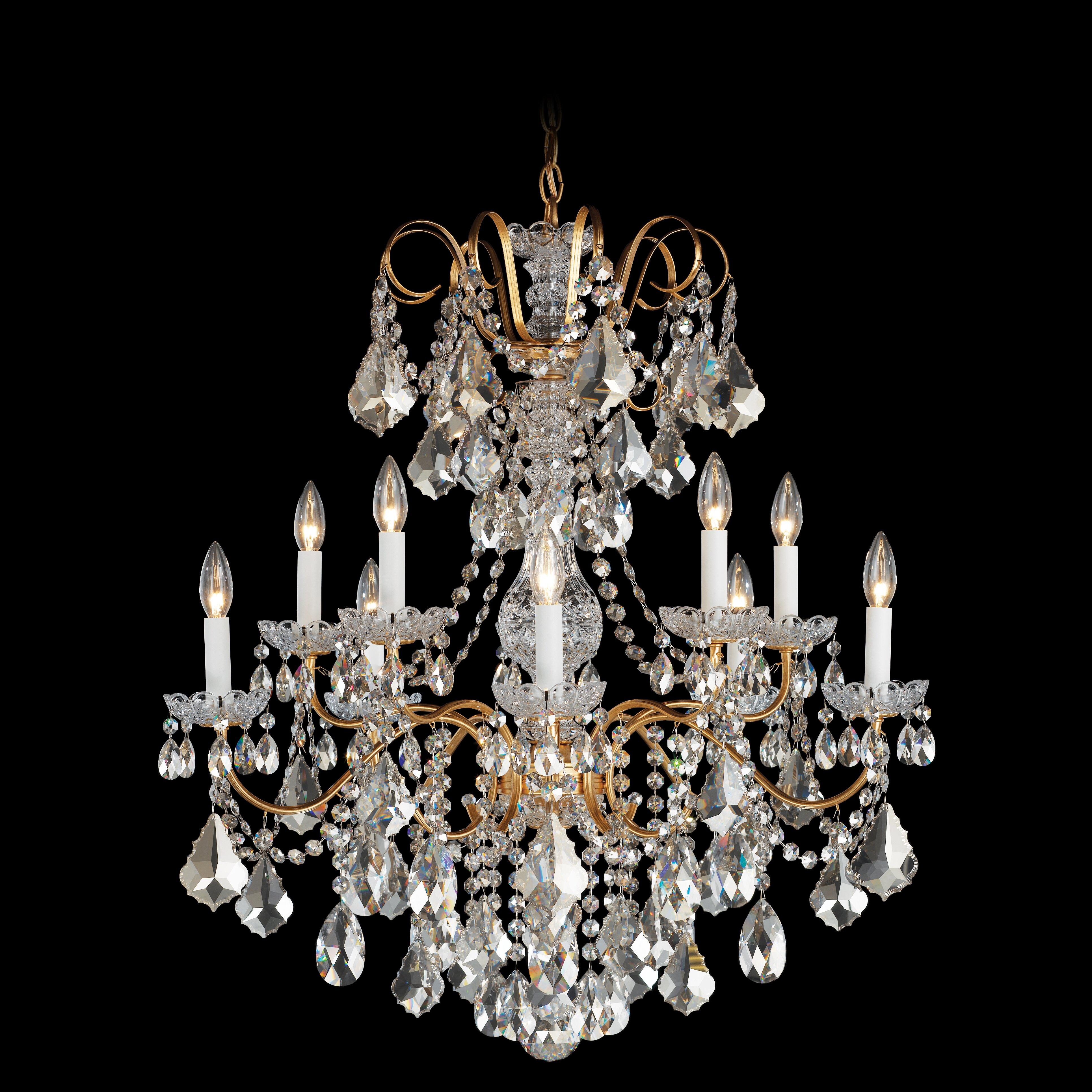 Schonbek Chandelier Wayfair: Schonbek New Orleans 10 Light Chandelier & Reviews
