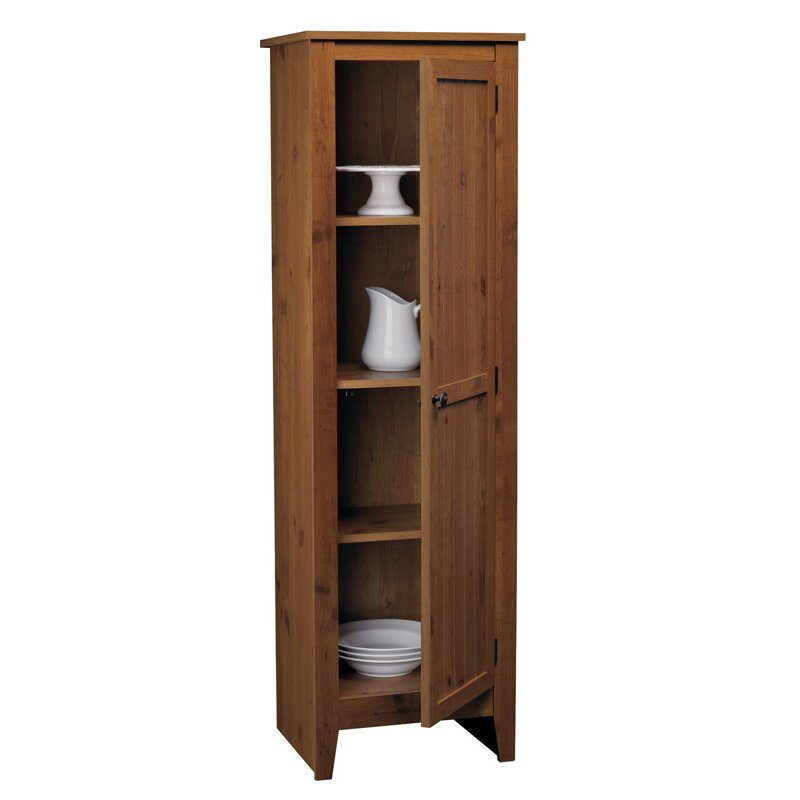 Ameriwood single door pantry in old fashion pine reviews for One day doors and closets reviews