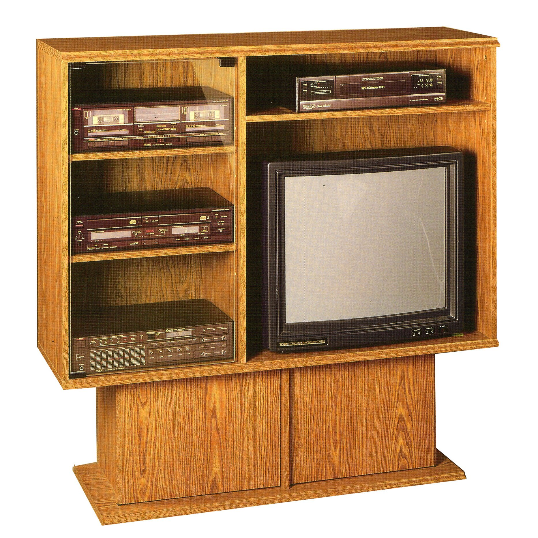 Rush Furniture Americus Entertainment Center Wayfair