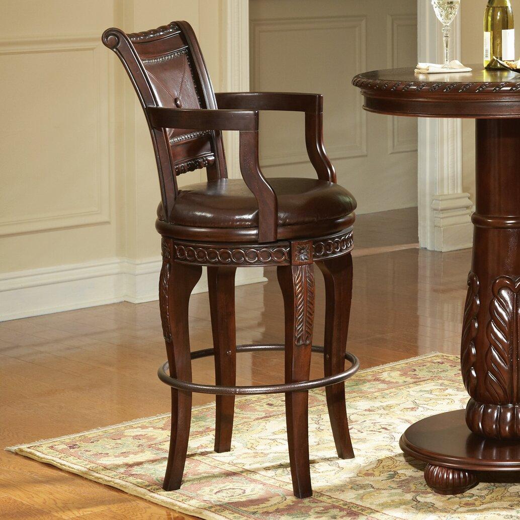Steve Silver Furniture Antoinette 30 Swivel Bar Stool Reviews Wayfair