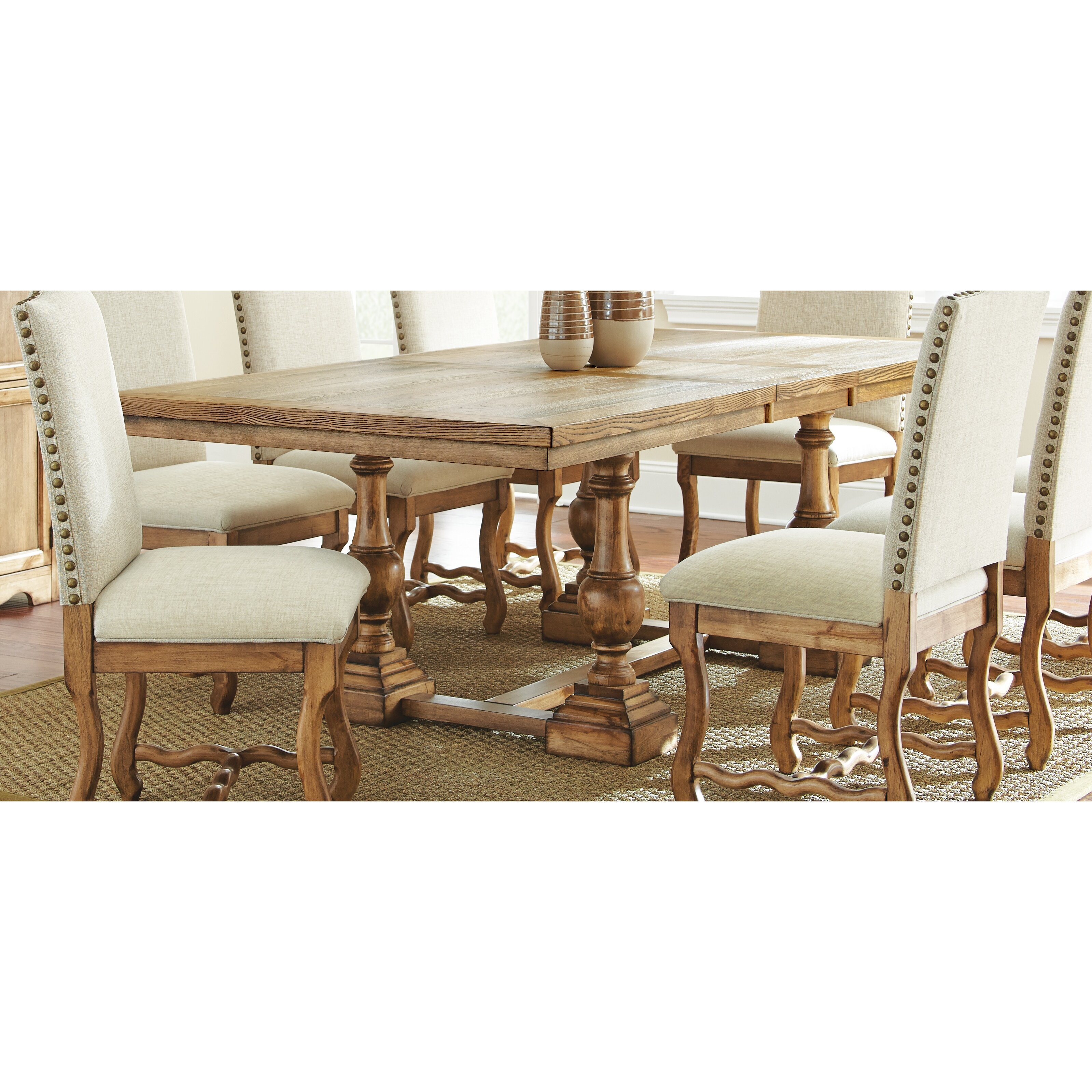 Steve Silver Furniture Plymouth Dining Table & Reviews