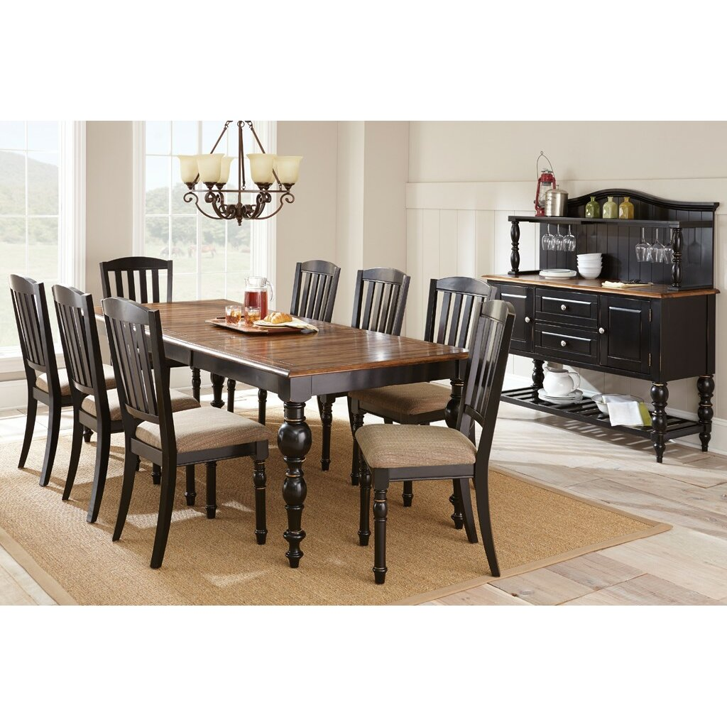 Steve Silver Furniture Carrolton Extendable Dining Table & Reviews ...