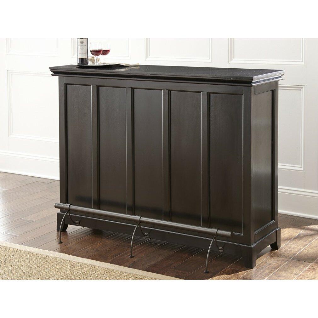 Steve Silver Furniture Garcia Bar With Wine Storage