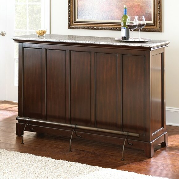 Steve Silver Furniture Newbury Bar With Wine Storage
