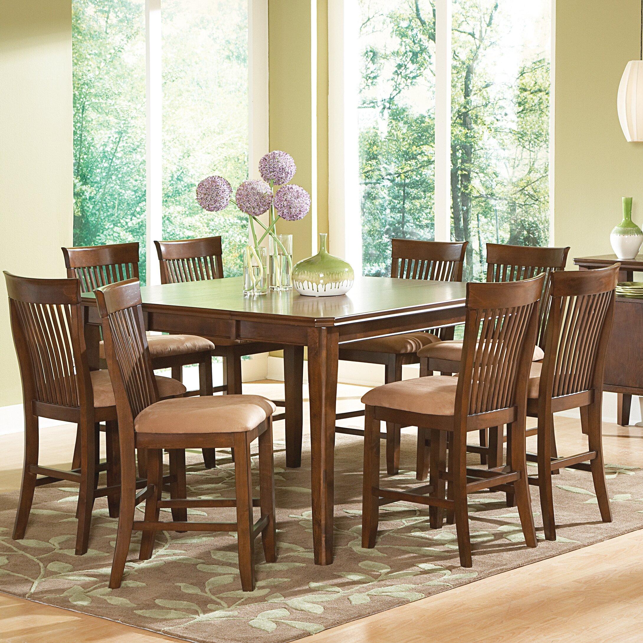 Red barrel studio johanson counter height extendable for Counter height extendable dining table