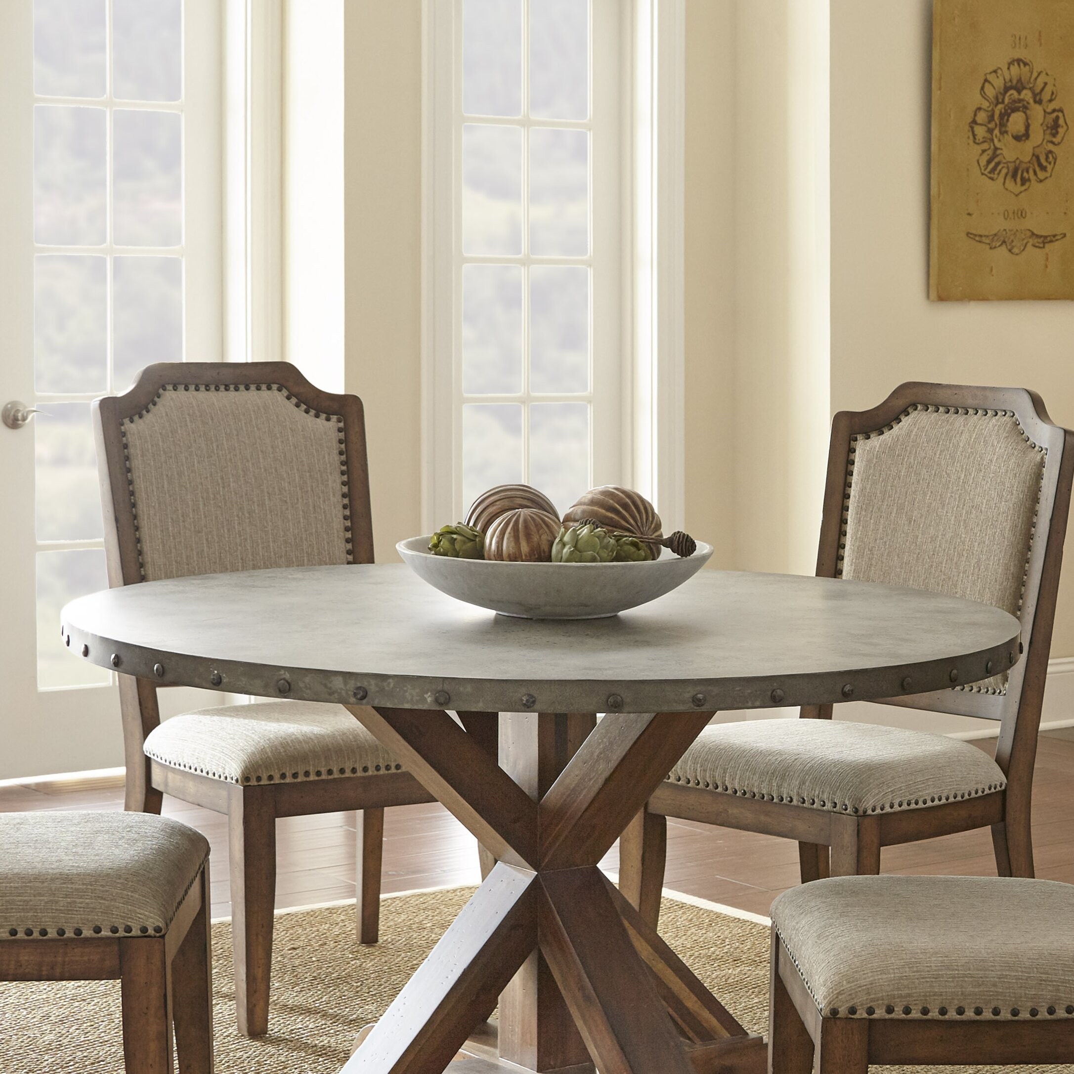 Steve Silver Furniture Wayland Dining Table Reviews Wayfair