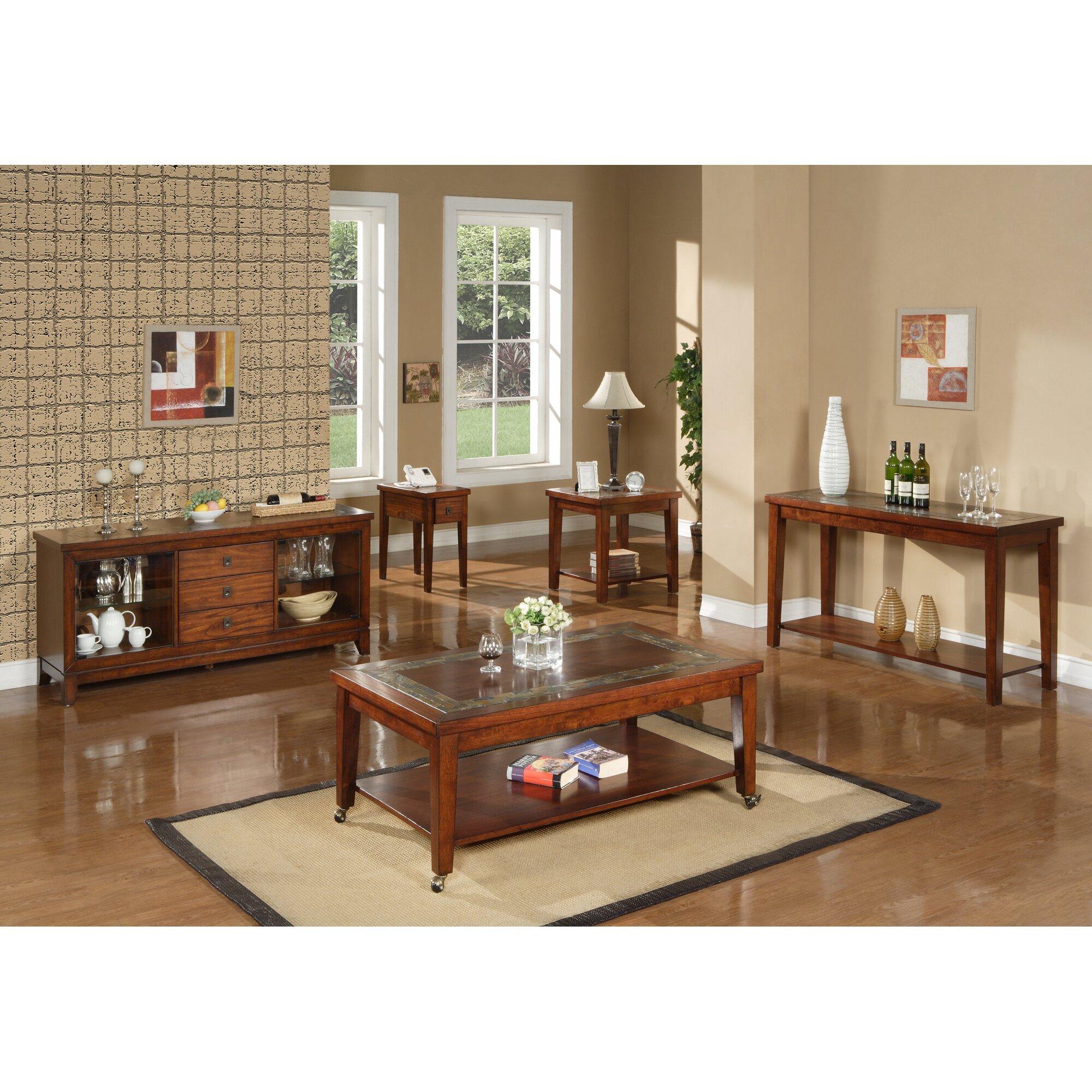 Steve Silver Furniture Davenport End Table Reviews Wayfair
