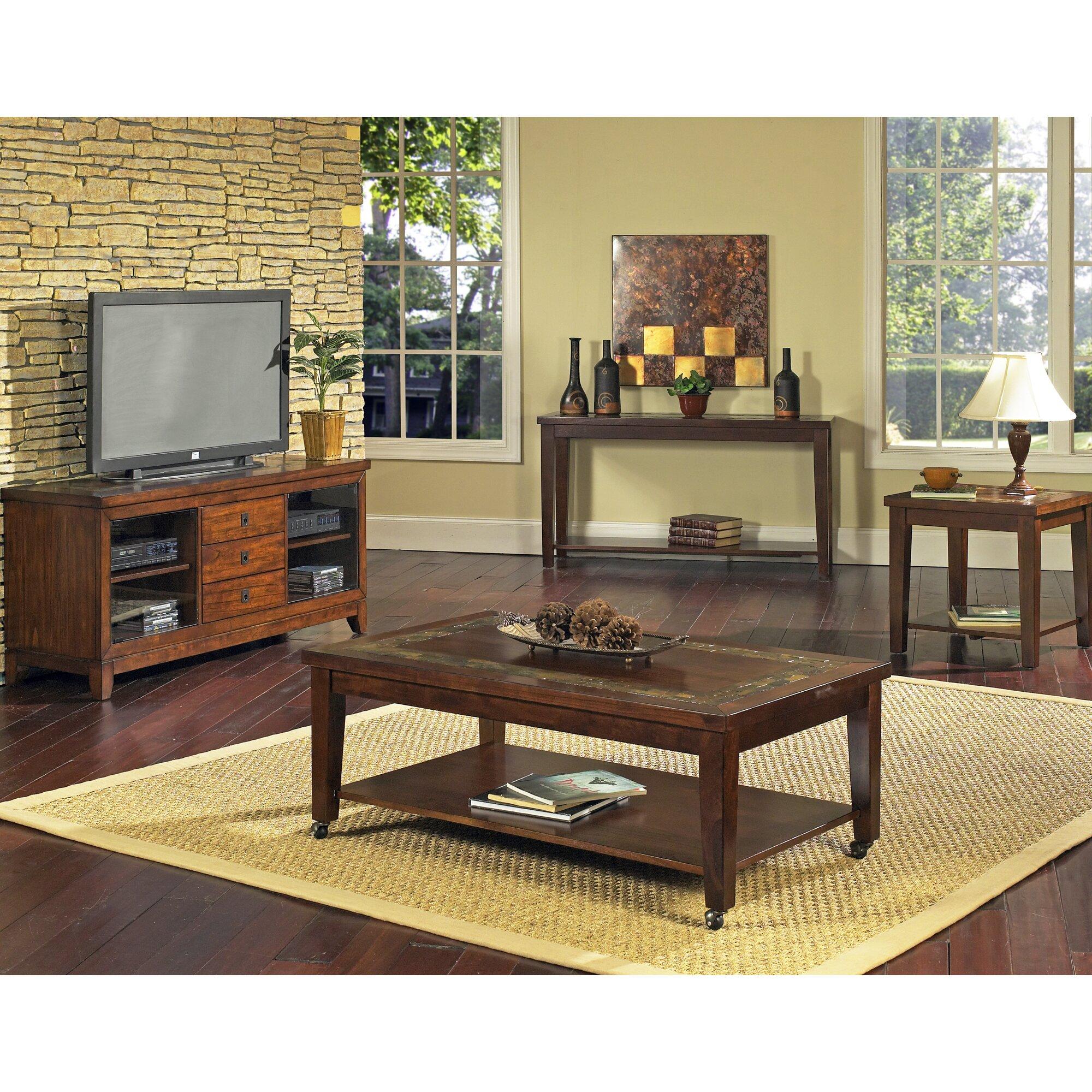 Steve Silver Furniture Davenport Console Table Reviews Wayfair