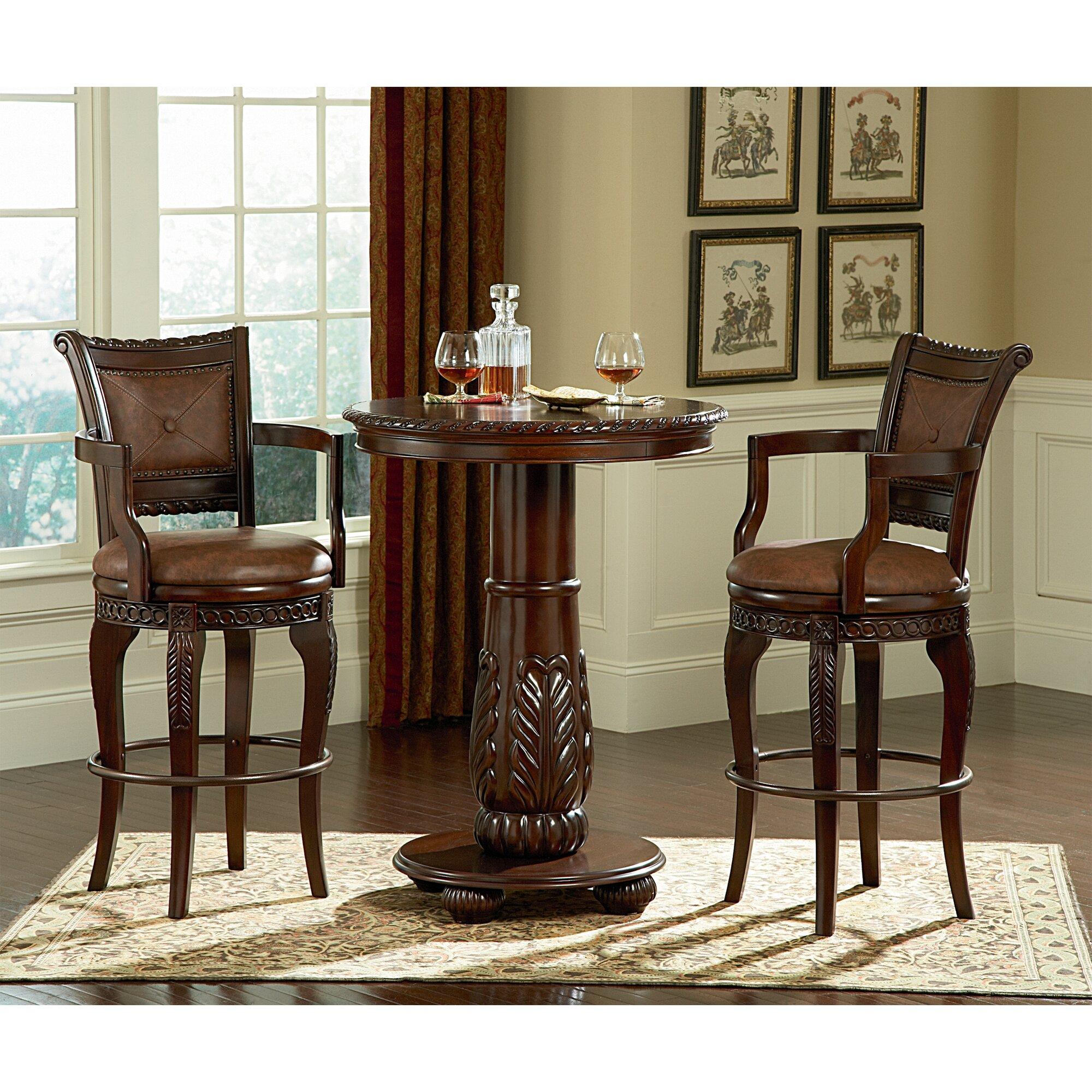 Steve Silver Furniture Antoinette Pub Table Set Reviews Wayfair