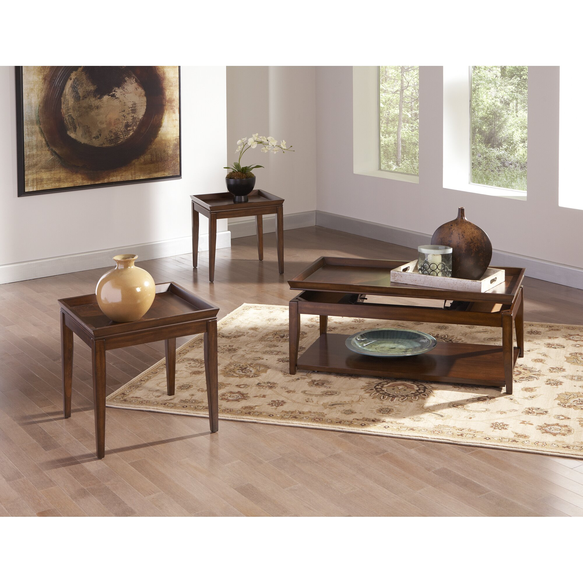 Steve Silver Furniture Clemson Coffee Table With Lift Top Reviews Wayfair