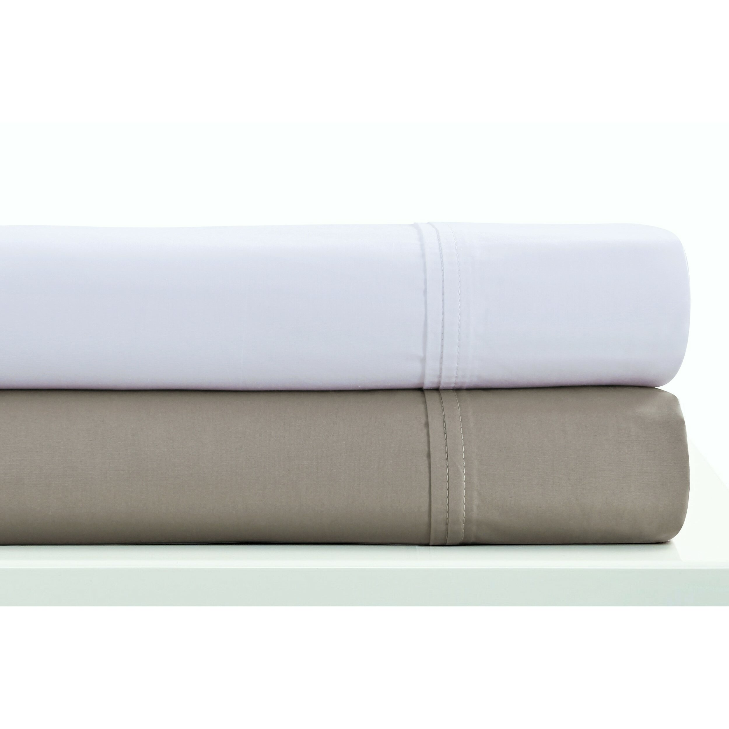 Tribeca living 400 thread count egyptian quality cotton for What is thread count in sheets