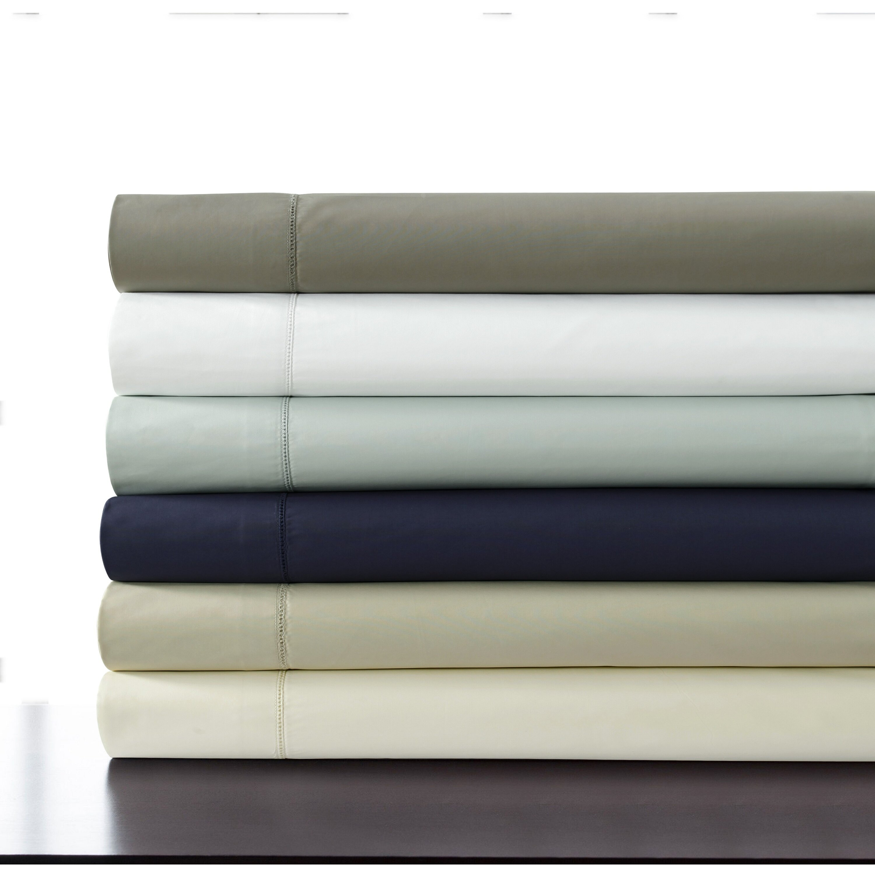 Tribeca living 500 thread count 100 cotton percale extra for What is thread count in sheets