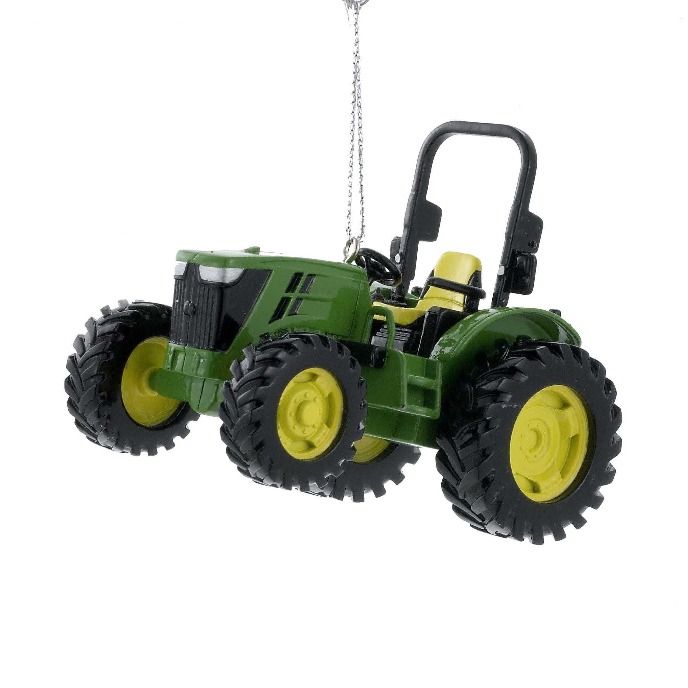 John Deere Tractor Wood Ornaments : Kurt adler john deere utility tractor ornament reviews
