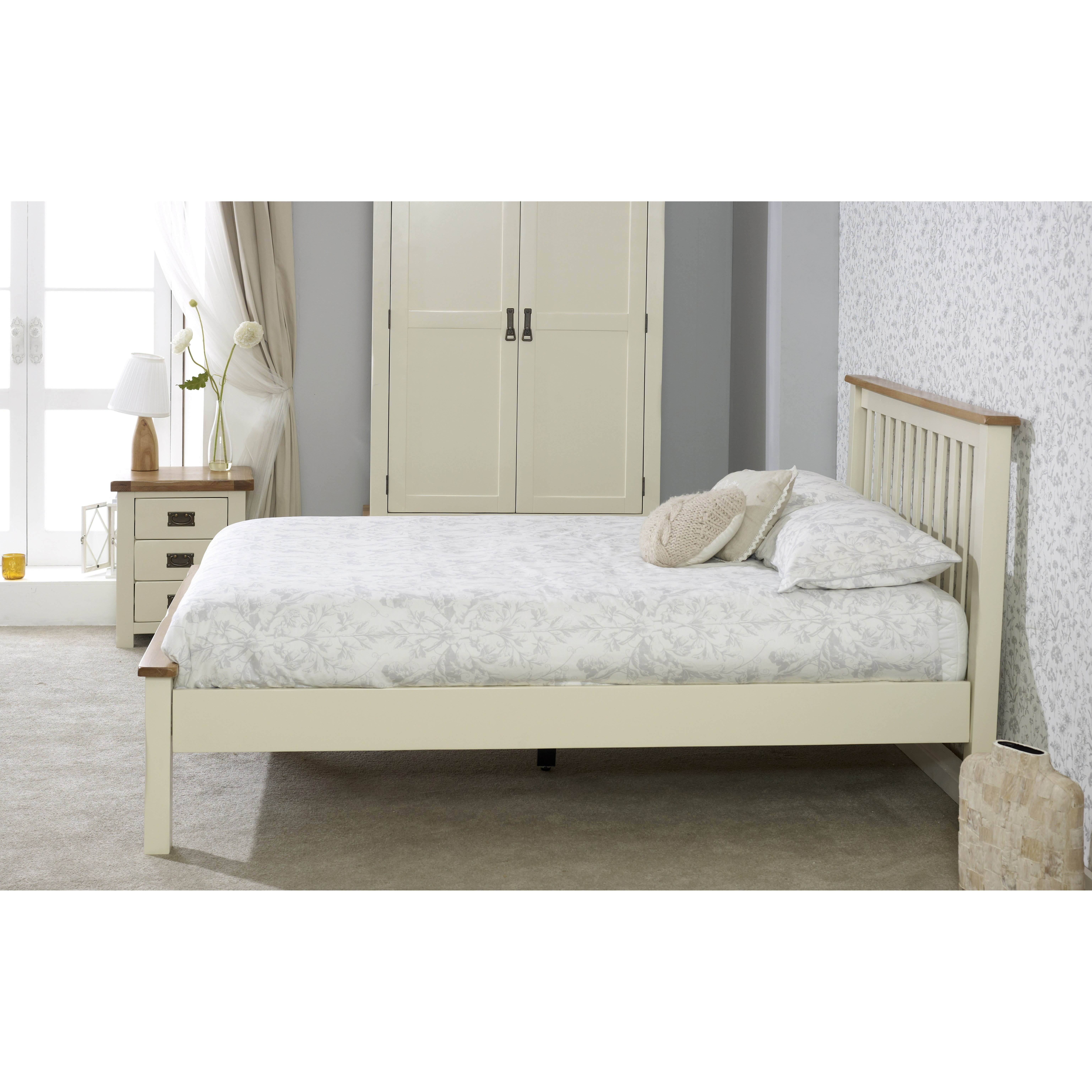 Birlea new hampshire low end bed frame wayfair uk for New bed frame
