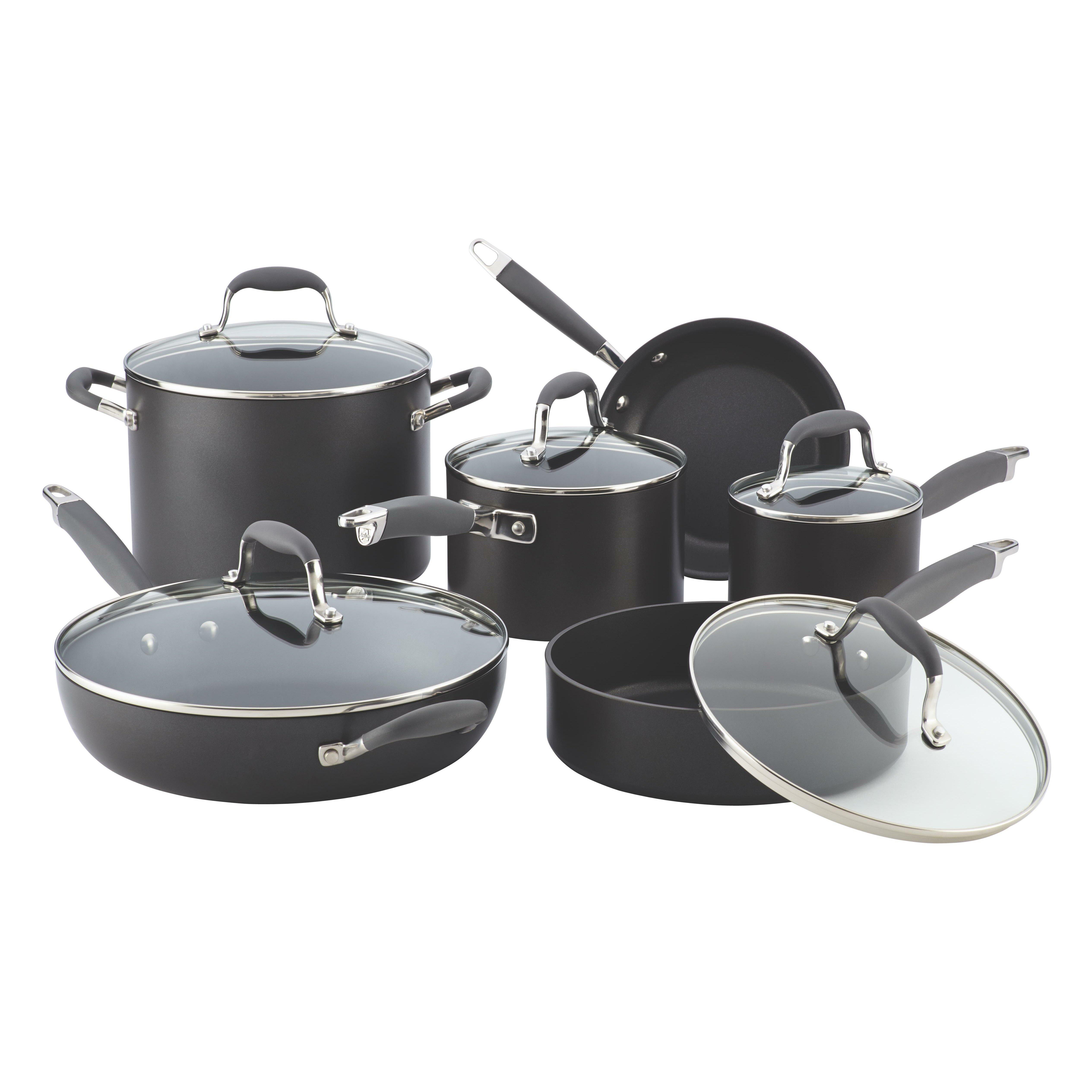 Anolon Advanced 11 Piece Cookware Set Reviews Wayfair