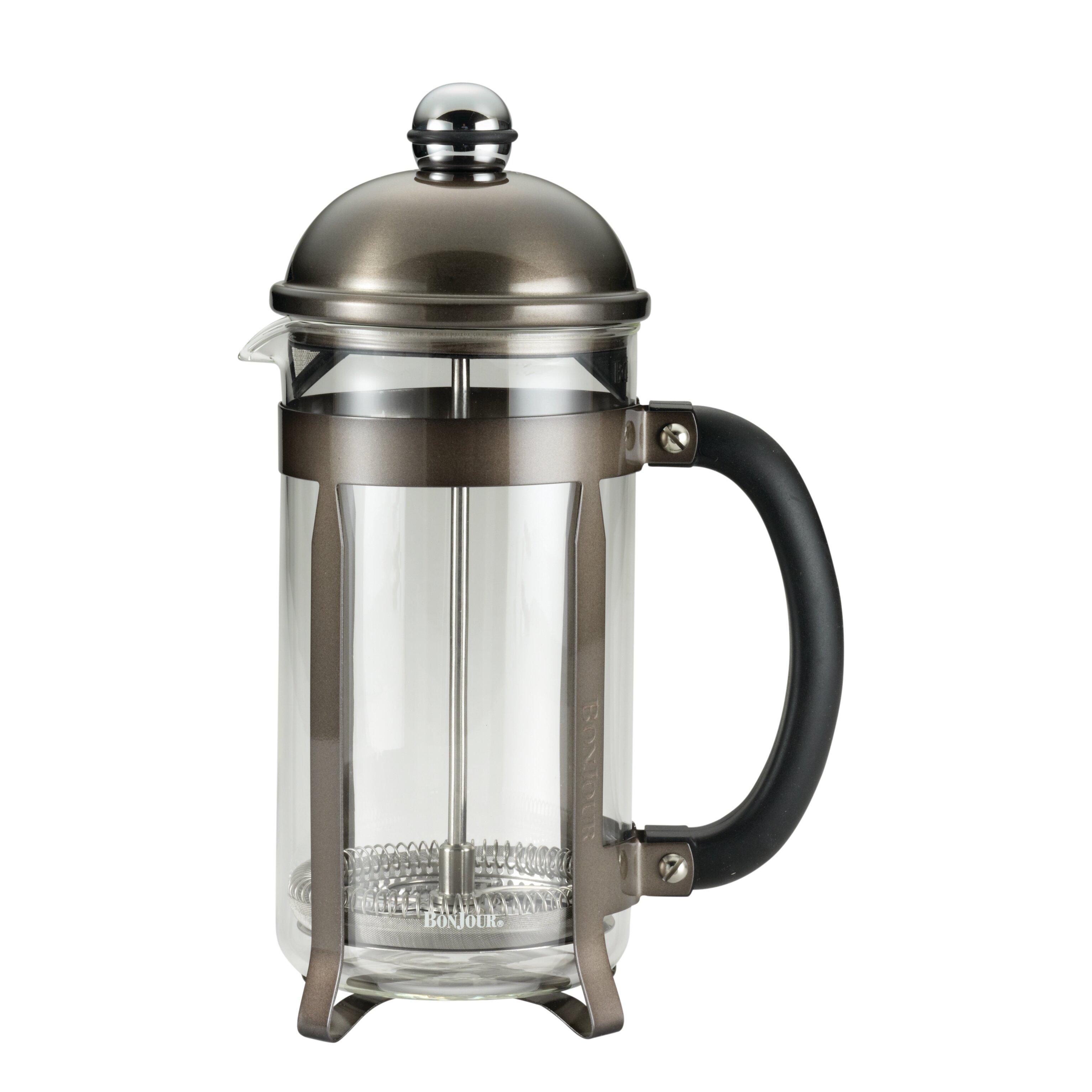 French Press Coffee Maker Flipkart : Anolon BonJour Coffee 8-Cup Maximus French Press Coffee Maker Wayfair