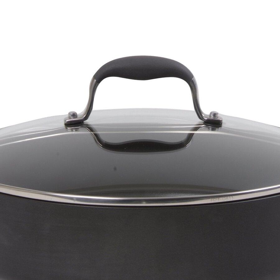 Anolon Advanced 5 Qt Saute Pan With Lid Amp Reviews Wayfair