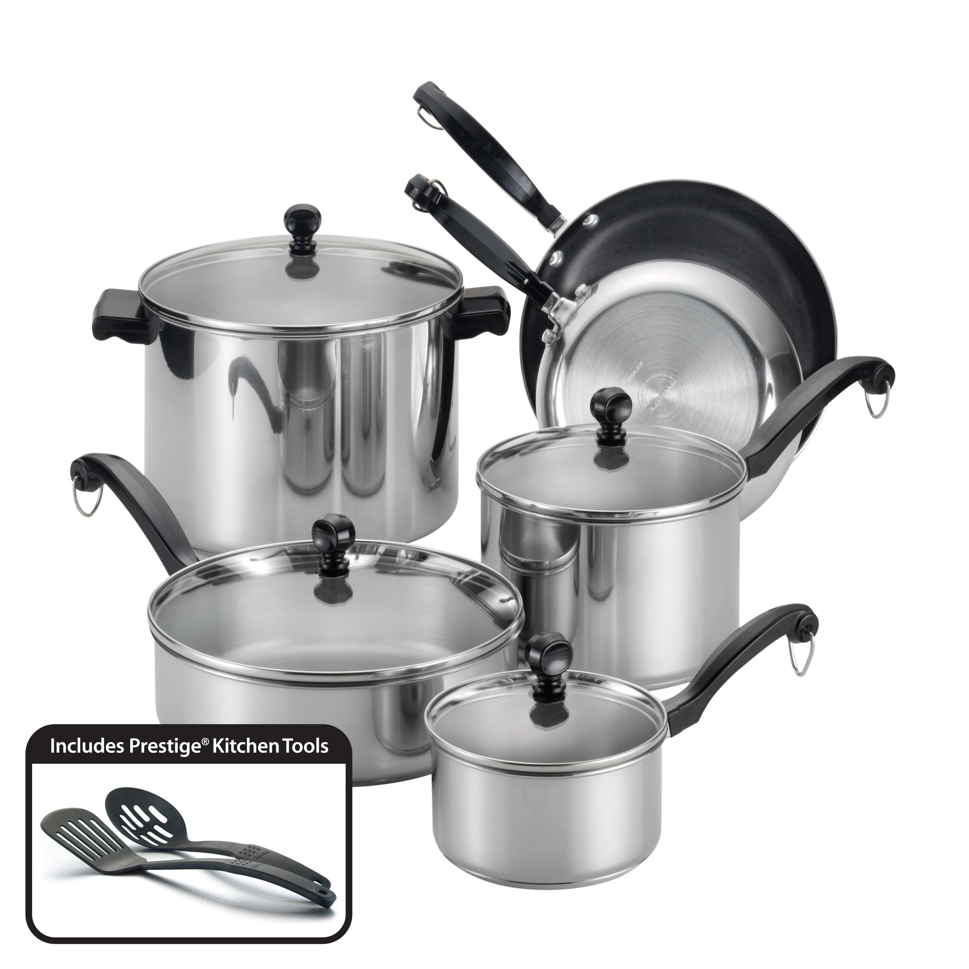 Farberware Classic Series II 12 Piece Cookware Set ...