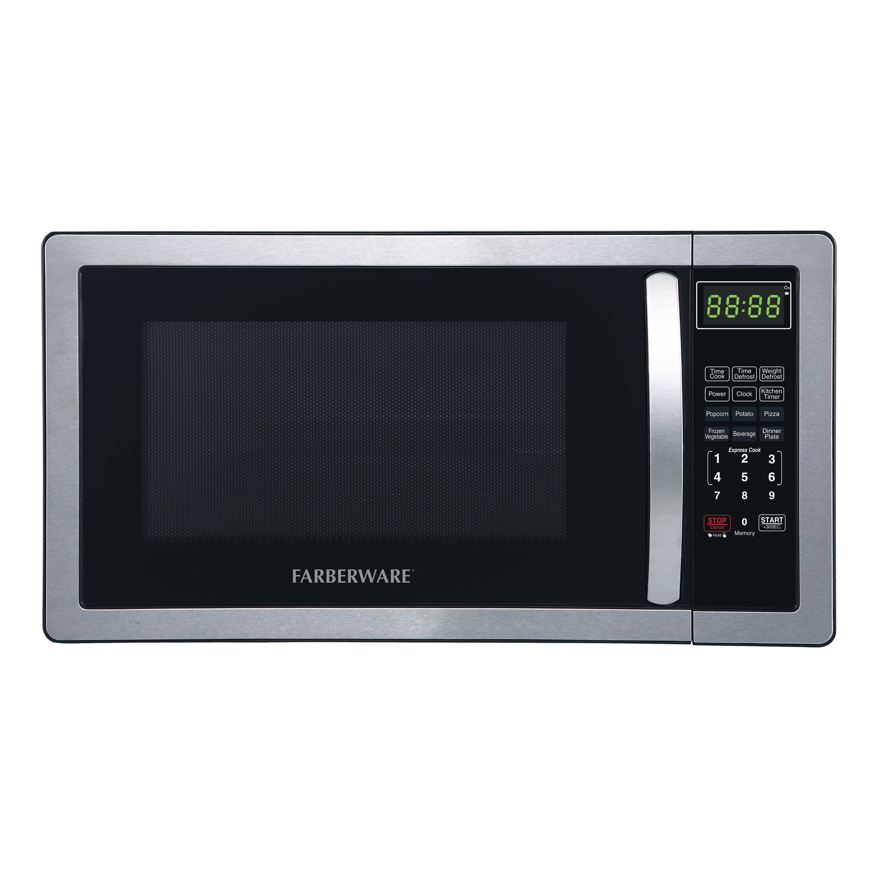 Countertop Oven Farberware : Classic 1.1 Cu. Ft. 1000W Countertop Microwave Oven by Farberware