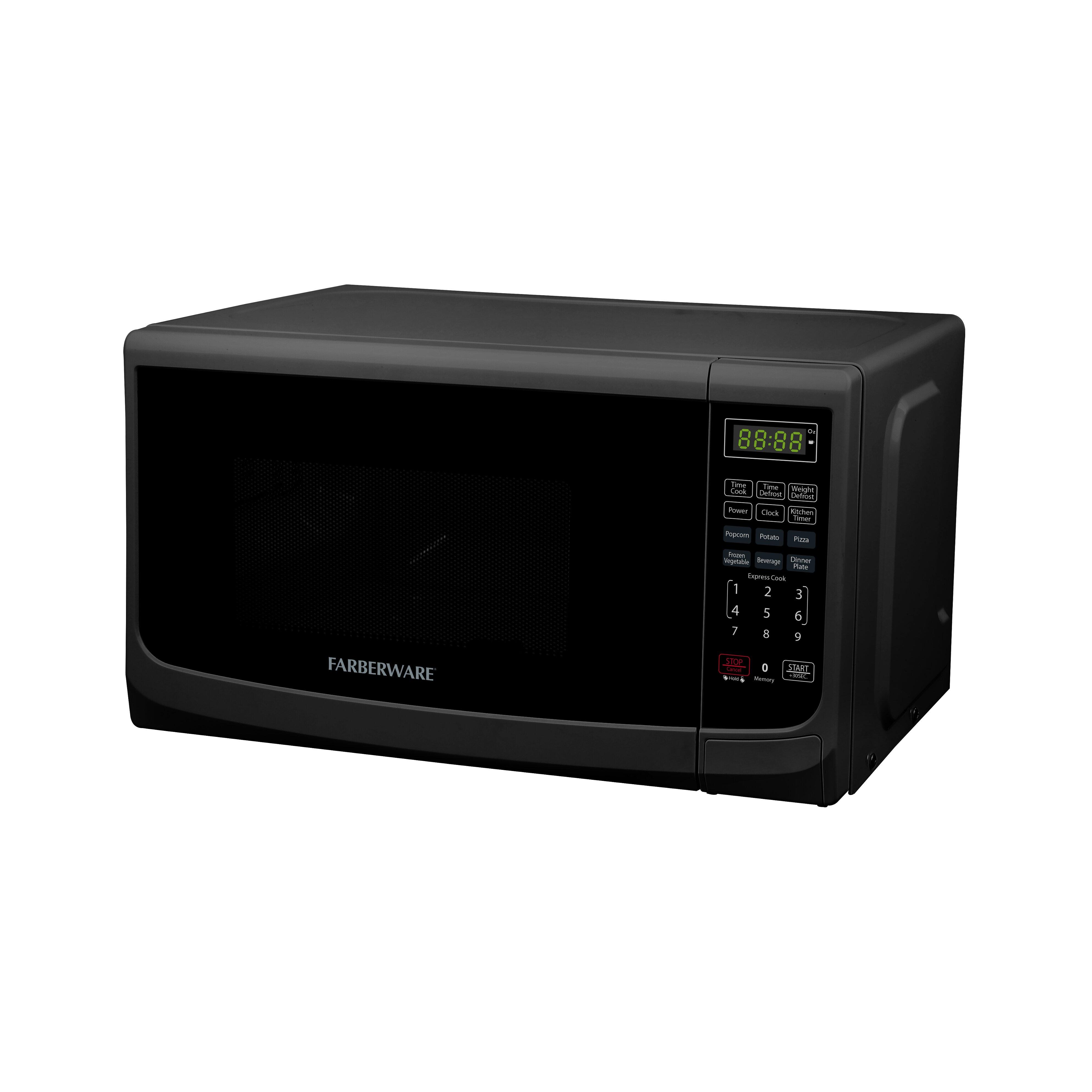 Countertop Oven Farberware : Classic 0.7 Cu. Ft. 700W Countertop Microwave Oven by Farberware