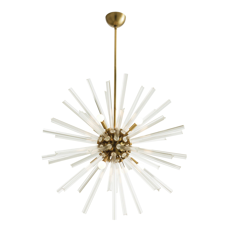 Arteriors home hanley 8 light sputnik chandelier reviews for Sputnik chandelier