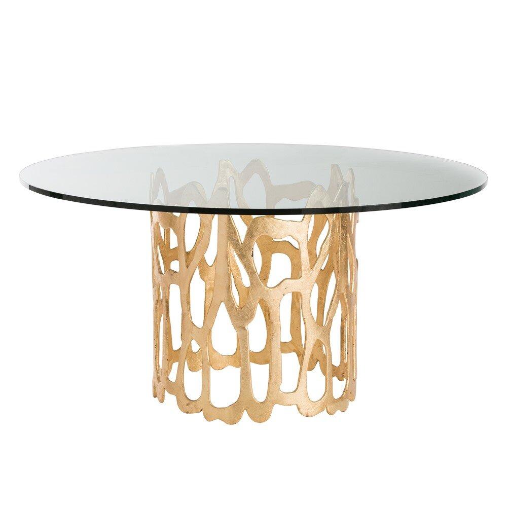 Arteriors home brampton dining table wayfair