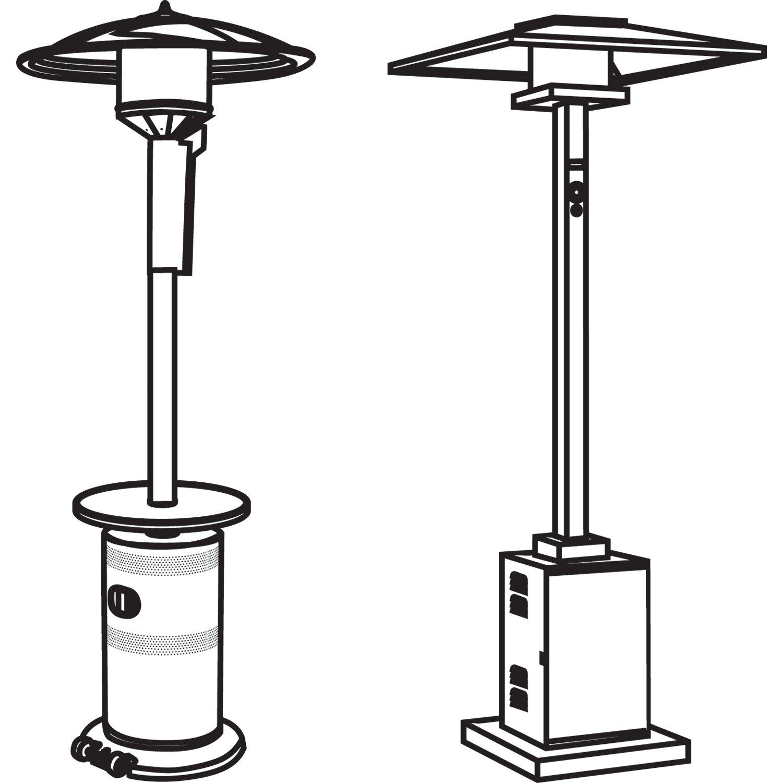 Classic Accessories Veranda Stand Up Patio Heater Cover