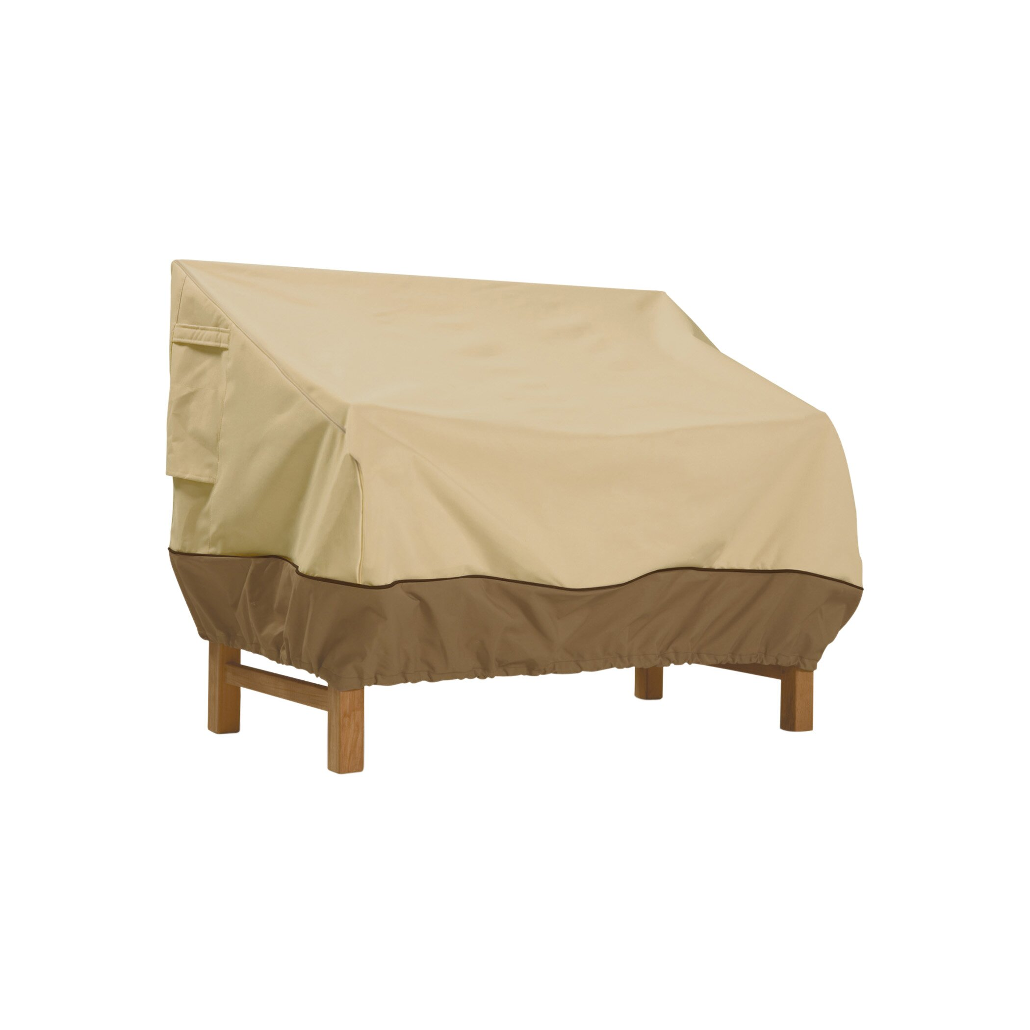 Classic accessories veranda patio loveseat cover reviews for Wayfair garden furniture covers