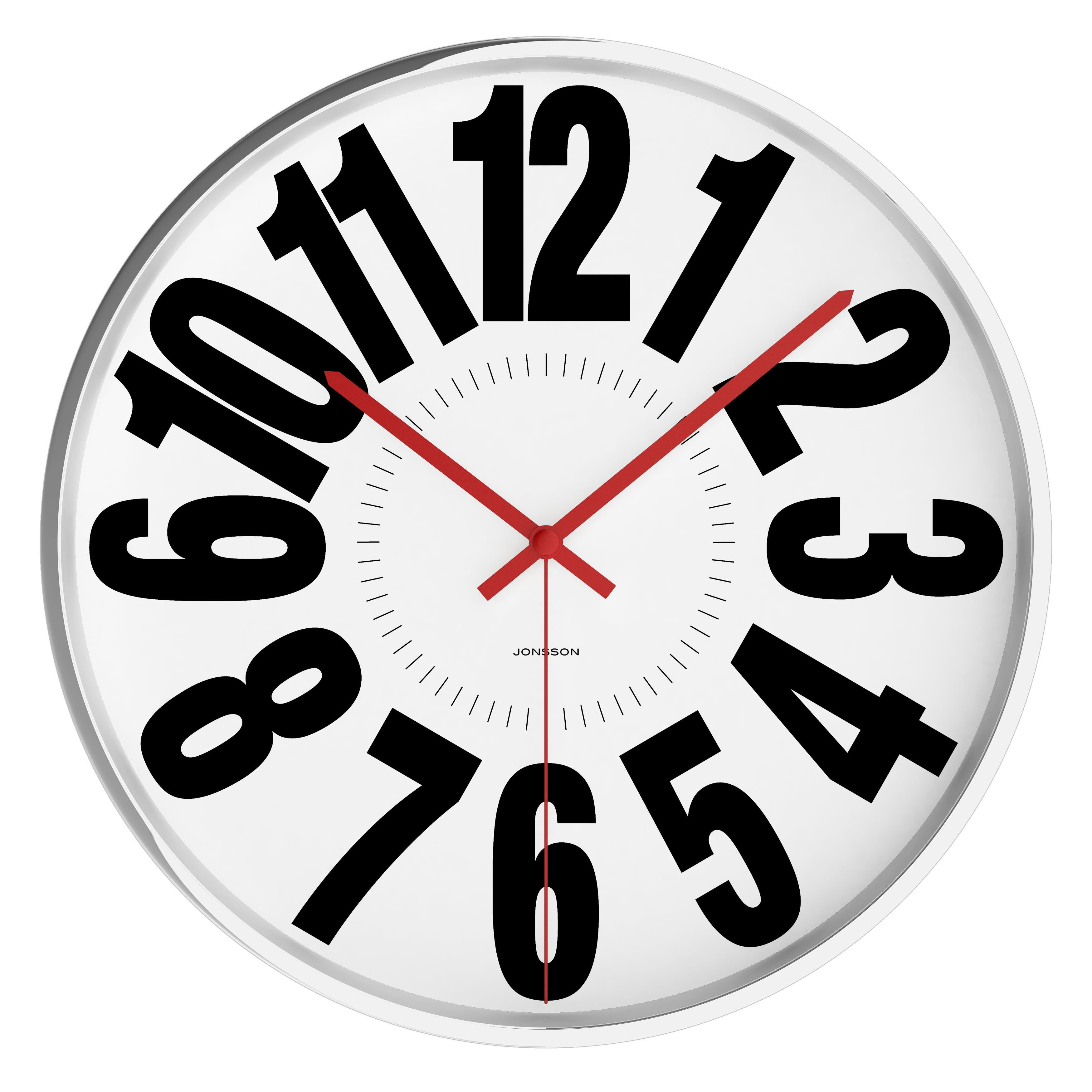 Jonsson Timeware Amplus 11 75 Quot Wall Clock Wayfair