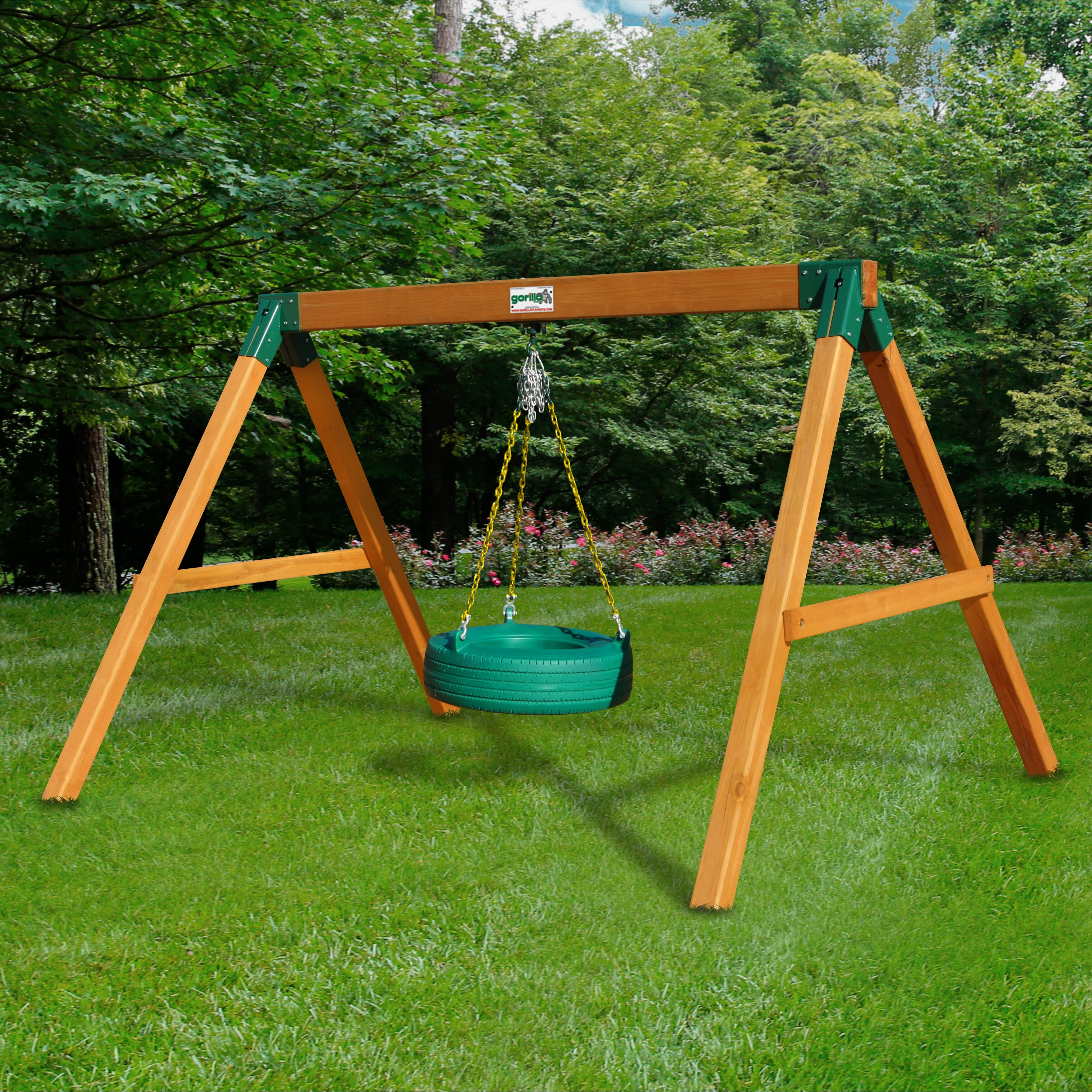 gorilla playsets free standing tire swing set reviews
