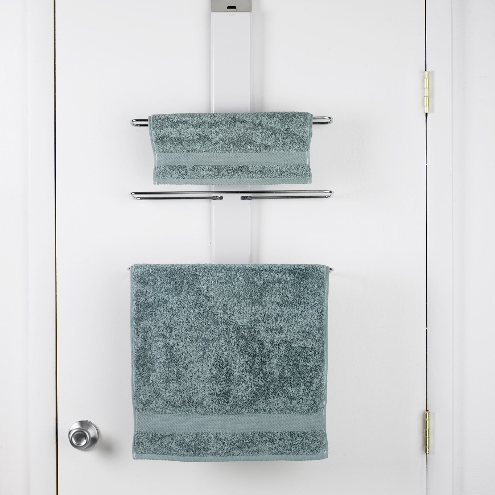 Oxo Good Grips Over The Door Towel Rack Amp Reviews Wayfair