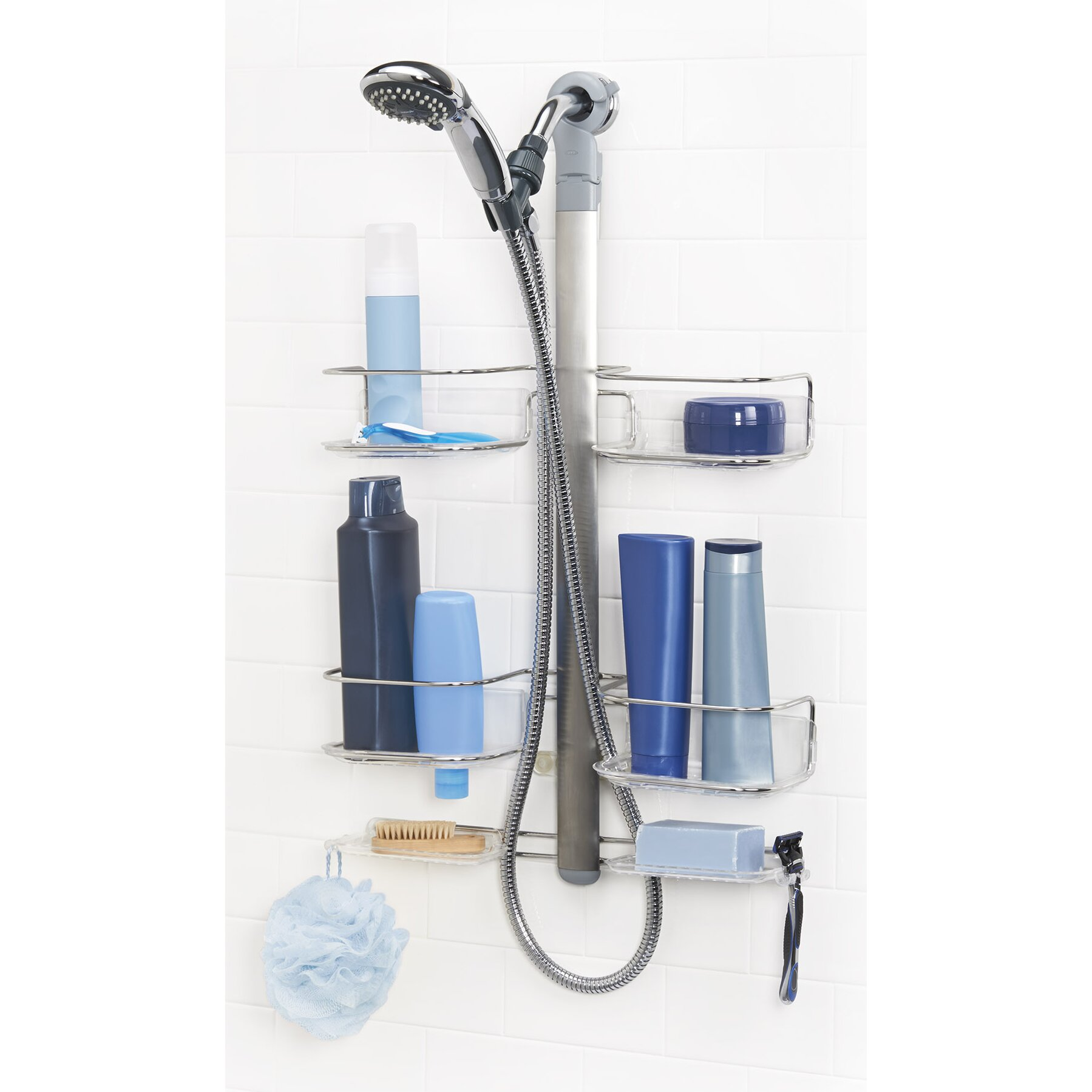 Oxo Grips Shower Caddy 28 Images Oxo Grips Stainless Steel Wall Mounted 3 Tier Shower Oxo